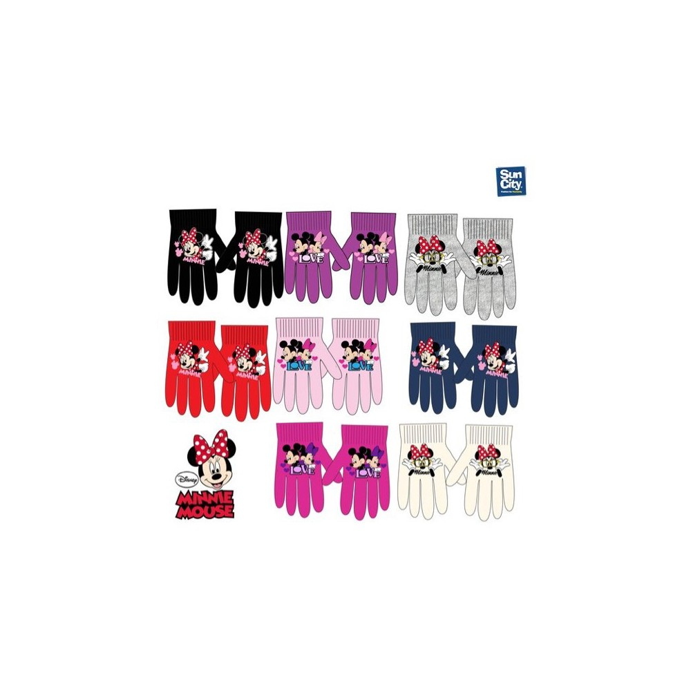 Guantes Minnie niña Disney