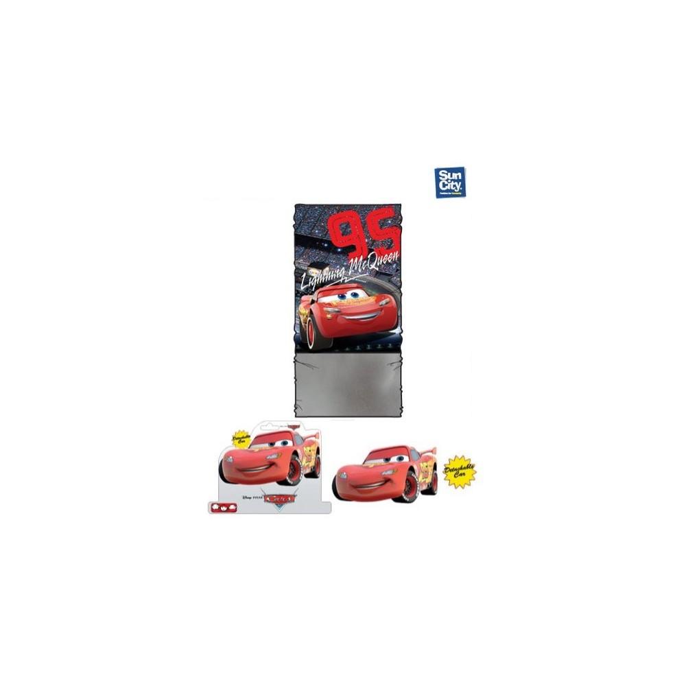 Buff de cuello Cars Disney Rayo McQueen cinco posiciones coralina