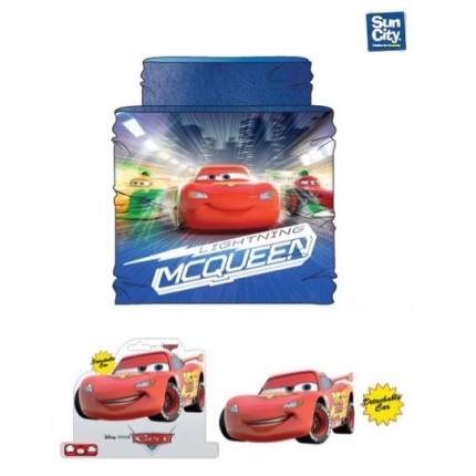 Buff de cuello Cars Disney Rayo McQueen coralina