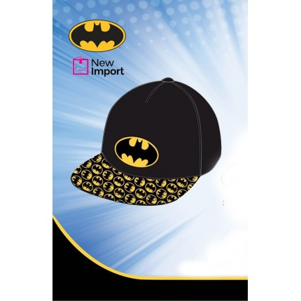 Gorra Batman visera niño junior Hip Hop