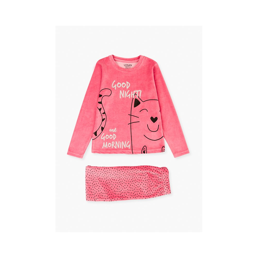 Pijama Losan niña junior Good Night! Vellut