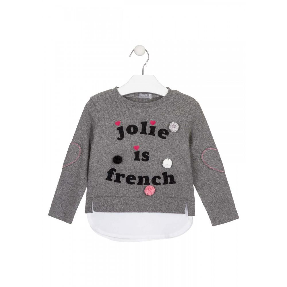 Jersey Losan Kids niña infantil Jolie is french