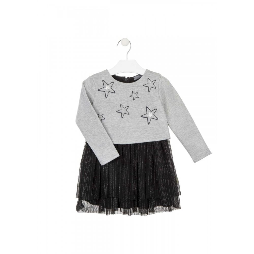 Vestido Losan Chic Collection niña Estrellas