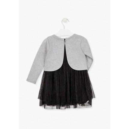 Espalda abierta Vestido Losan Chic Collection niña Estrellas
