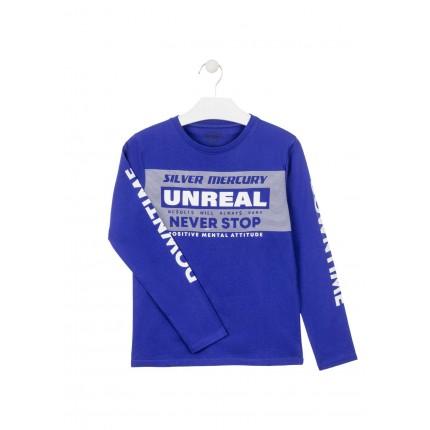 Camiseta Losan niño Unreal junior manga larga