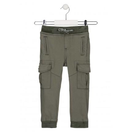 Pantalón Losan Kids niño infantil Nomad bolsillos laterales