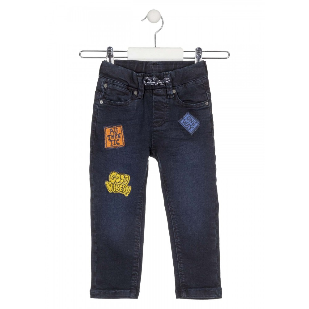 Pantalón Denim Losan Kids niño infantil What's up