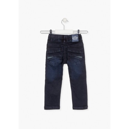 Parte trasera Pantalón Denim Losan Kids niño infantil What's up