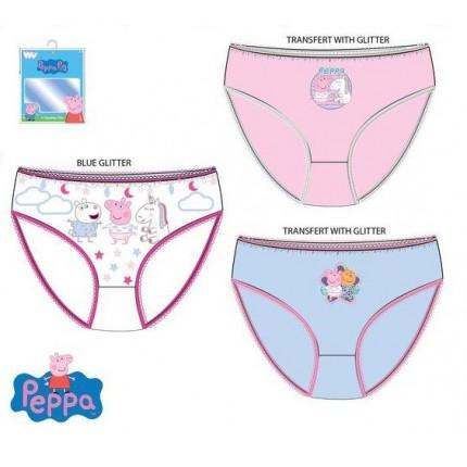 Braguitas Peppa Pig niña infantil pack de 3