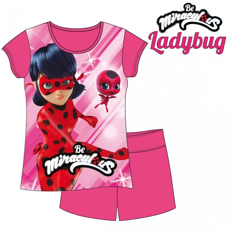Pijama Ladybug Prodigiosa en acción manga corta