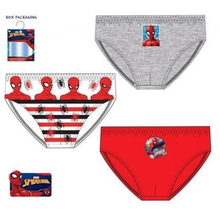 Calzoncillos Spider-man niño infantil Slips Pack de 3