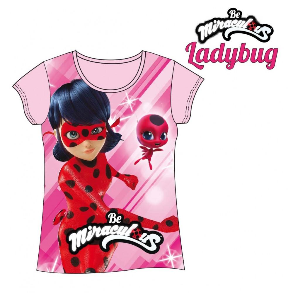 Camiseta Ladybug Prodigiosa en acción manga corta