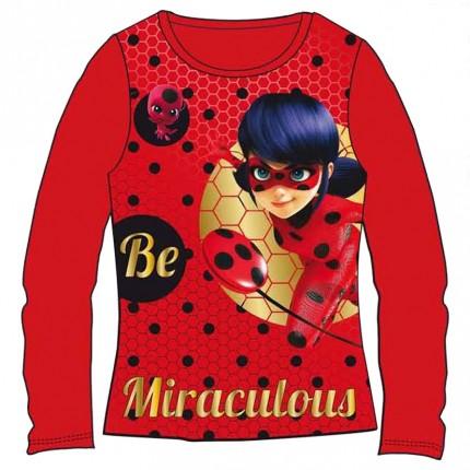 Camiseta Ladybug Miraculous manga larga