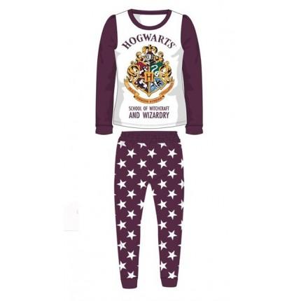 Pijama Harry Potter niña Hogwarts manga larga pantalón leggin