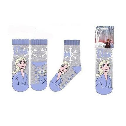 Calcetín antideslizante Frozen 2 niña Azul