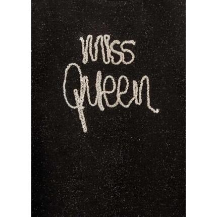 Detalle estampado Camiseta Losan niña Miss Queen junior manga larga