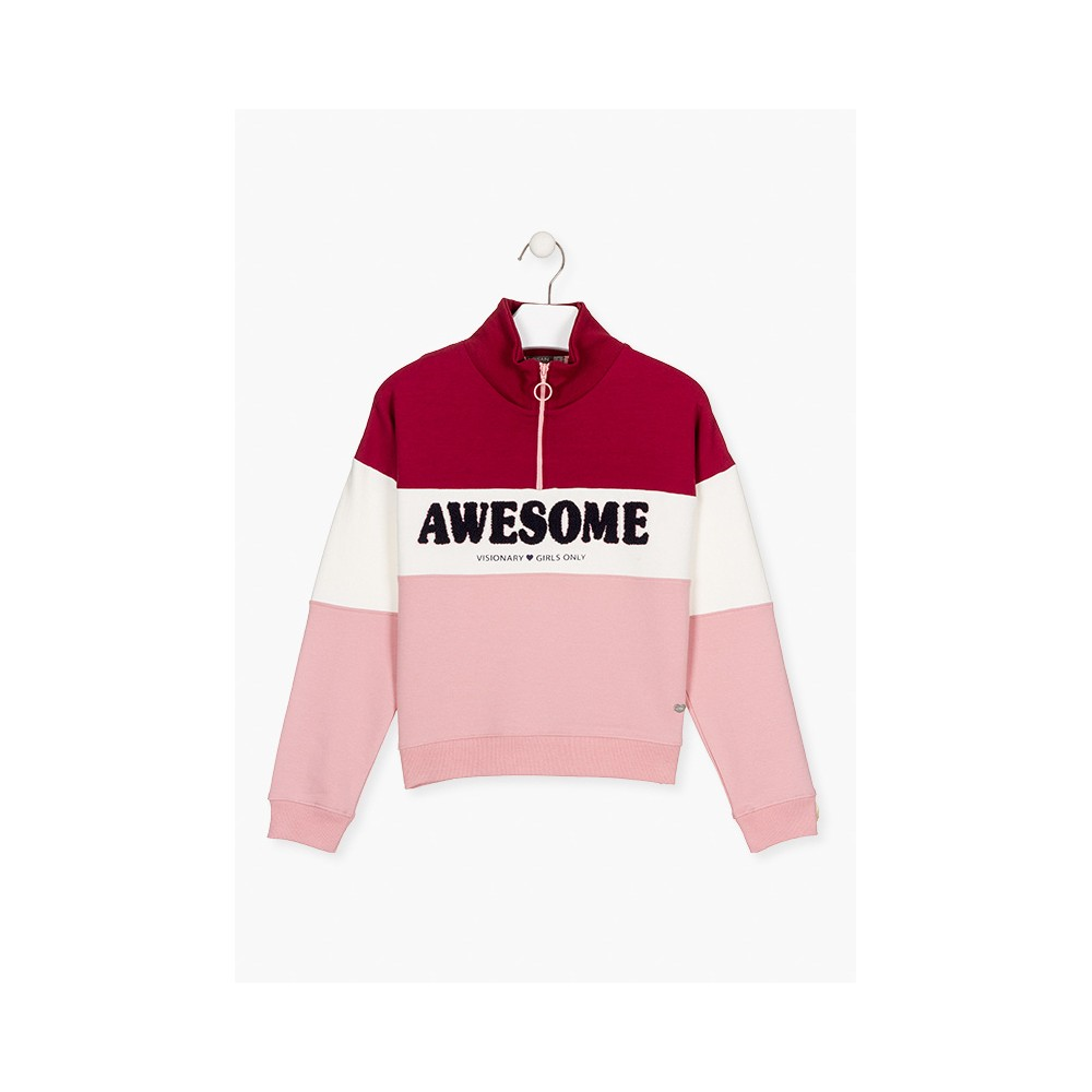 Sudadera Losan niña junior Awesome
