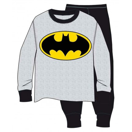 Pijama Batman niño junior manga larga logo
