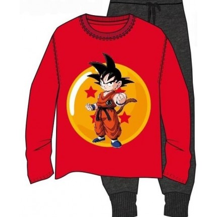 Pijama Dragon Ball Goku adulto manga larga