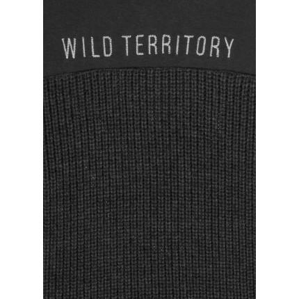 Detalle bordado Jersey Losan niño Wild Territory junior capucha