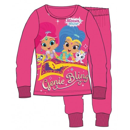 Pijama Shimmer and Shine niña infantil manga larga