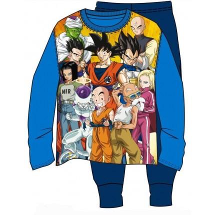 Pijama Dragon Ball Z Familia Bola de Drac manga larga