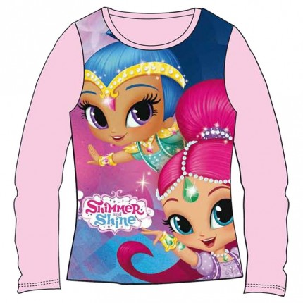 Camiseta Shimmer and Shine niña infantil manga larga