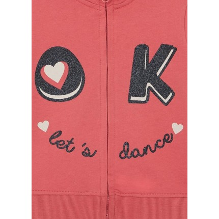 Detalle estampado Chaqueta Losan Kids Let's Dance niña infantil