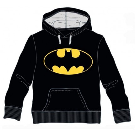 Sudadera Batman niño capucha canguro