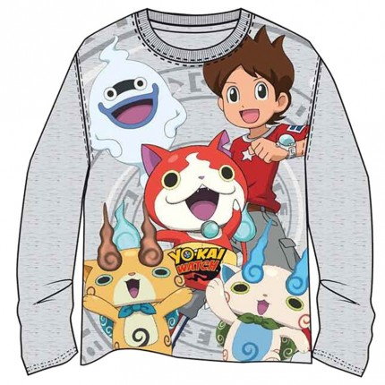 Camiseta Yokai Watch manga larga