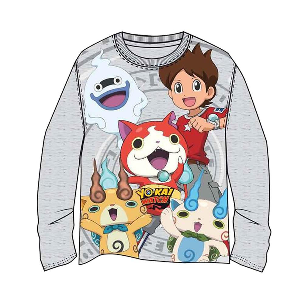 Camiseta Yokai Watch manga larga