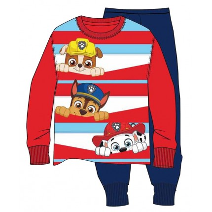 Pijama Paw Patrol niño infantil manga larga
