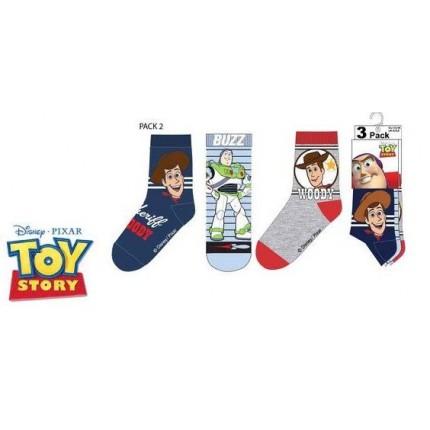 Calcetines Toy Story Pack de 3 niño combinación 1