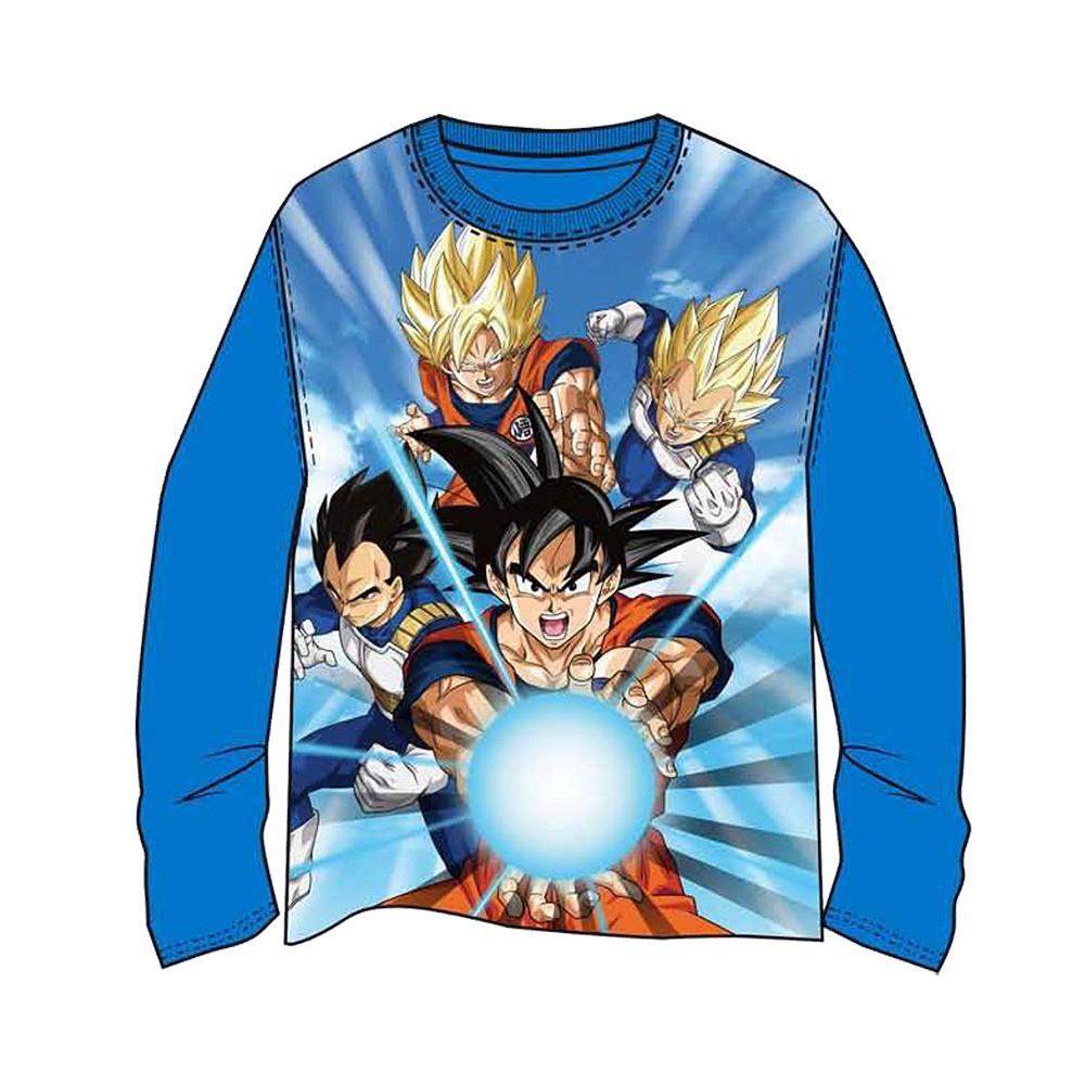 Camiseta Dragon ball Z Goku Vegeta manga larga
