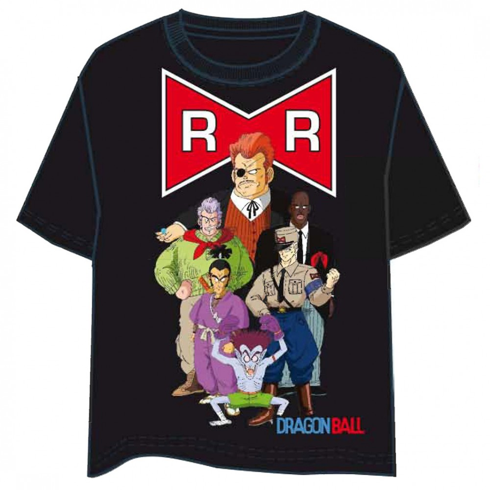 Camiseta Dragon Ball Red Ribbon manga corta