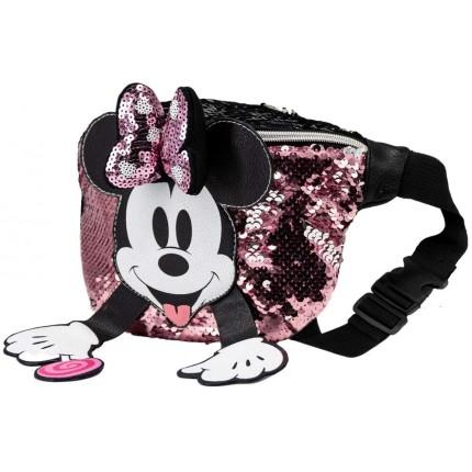 De lado Minnie Mouse Lollipop Riñonera Cream