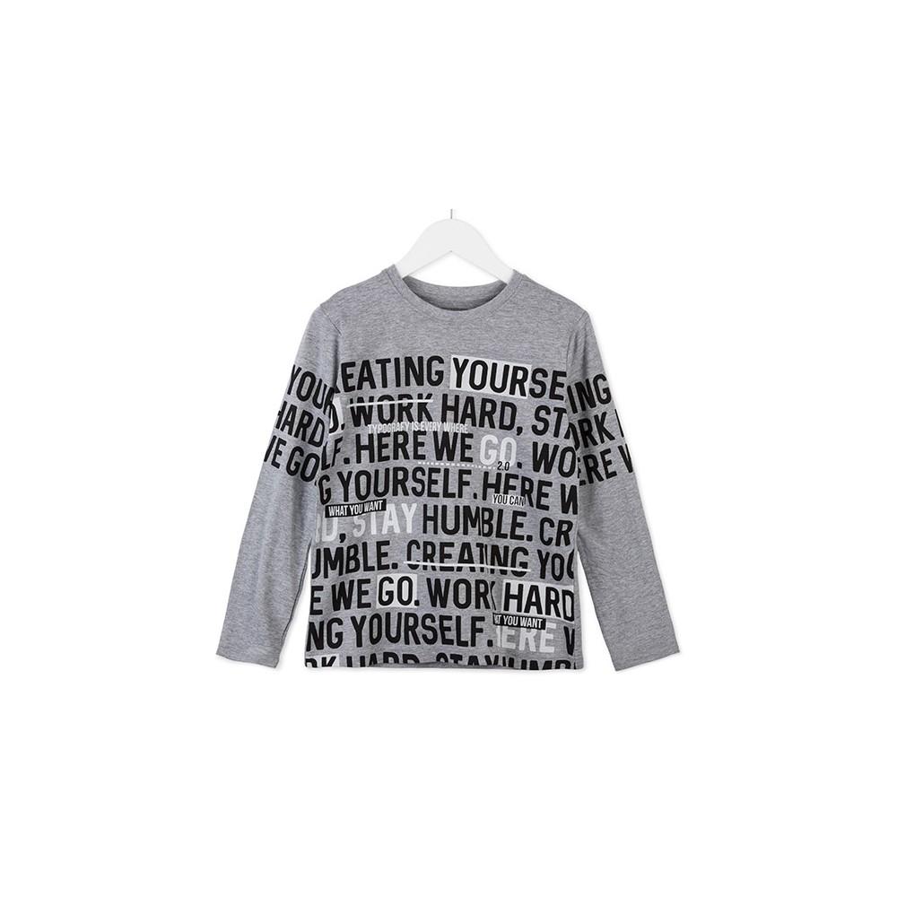 Camiseta Losan niño junior Go manga larga