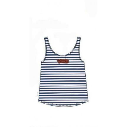Espalda Camiseta Anekke niña con nudo tirantes