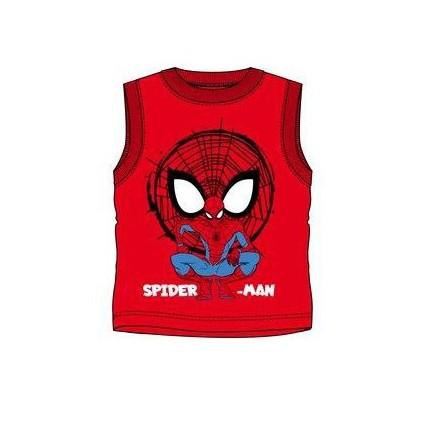 Camiseta Spider-man Best Hero Ever niño tirantes en rojo