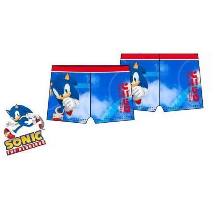 Bañador boxer Sonic The Hedgehog de Sega niño Azul medio