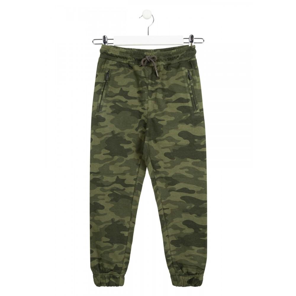 Pantalón Jogging Losan niño junior camuflaje