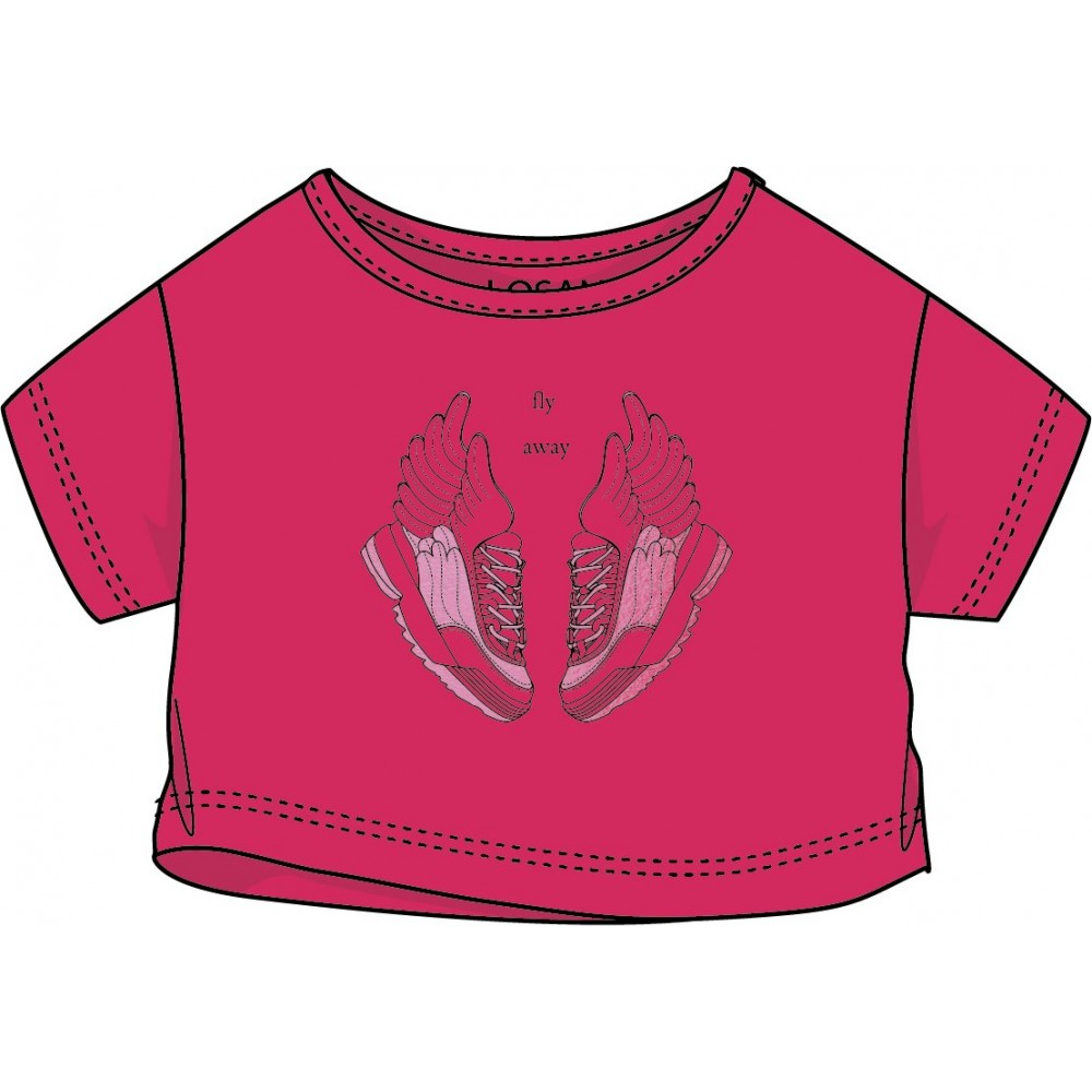 Camiseta Losan niña junior Fly Away top