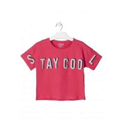 Camiseta Losan niña junior Stay Cool top