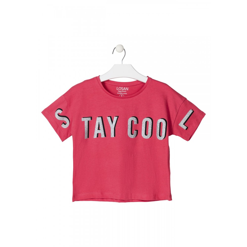 Camiseta Losan niña junior Stay Cool top