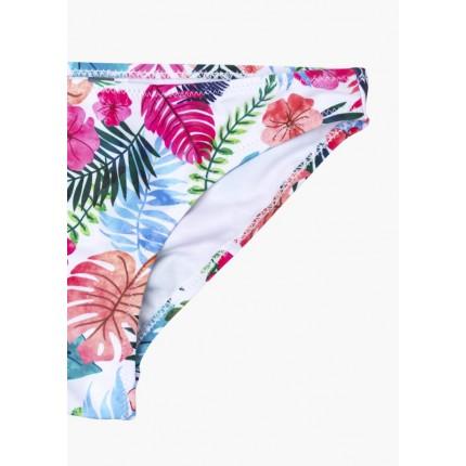 Detalle estampado Bikini Losan niña junior Jungle top y braguita