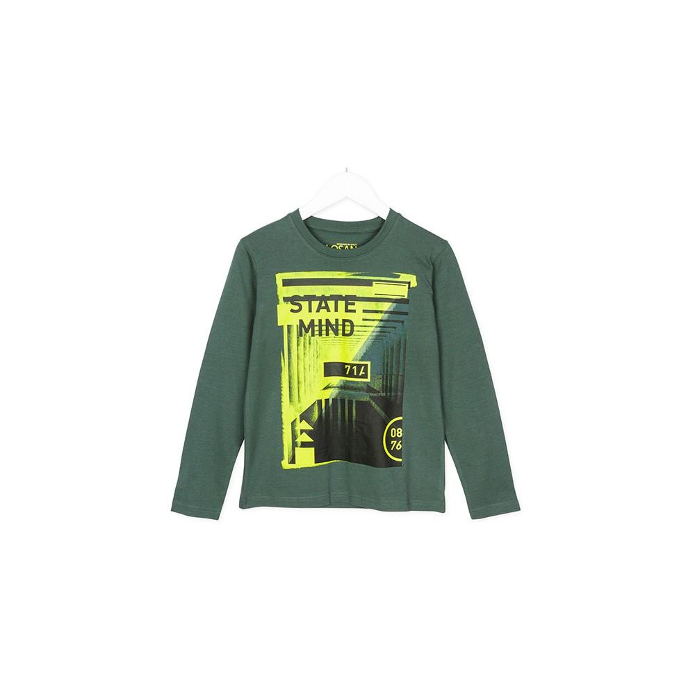 Camiseta Losan niño junior State Mind manga larga