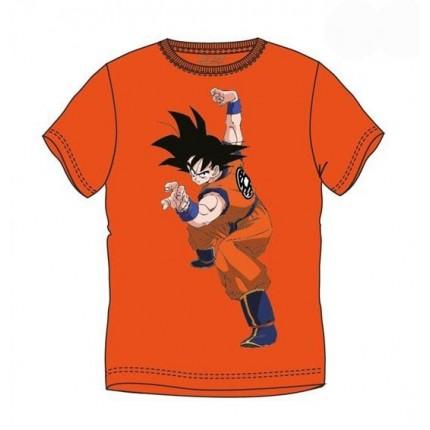 Camiseta Dragon Ball Son Goku adulto manga corta