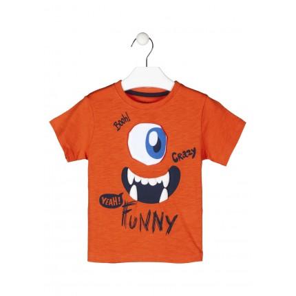 Camiseta Losan kids niño infantil Colorful Day manga corta