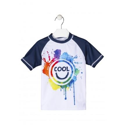 Camiseta Losan Kids niño infantil de protección solar