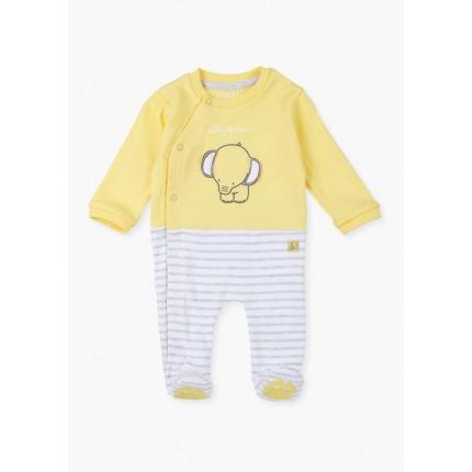 Pijama New Born Losan Recién nacido Elephant interlock